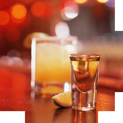 Shot of Tequila -- tasty!